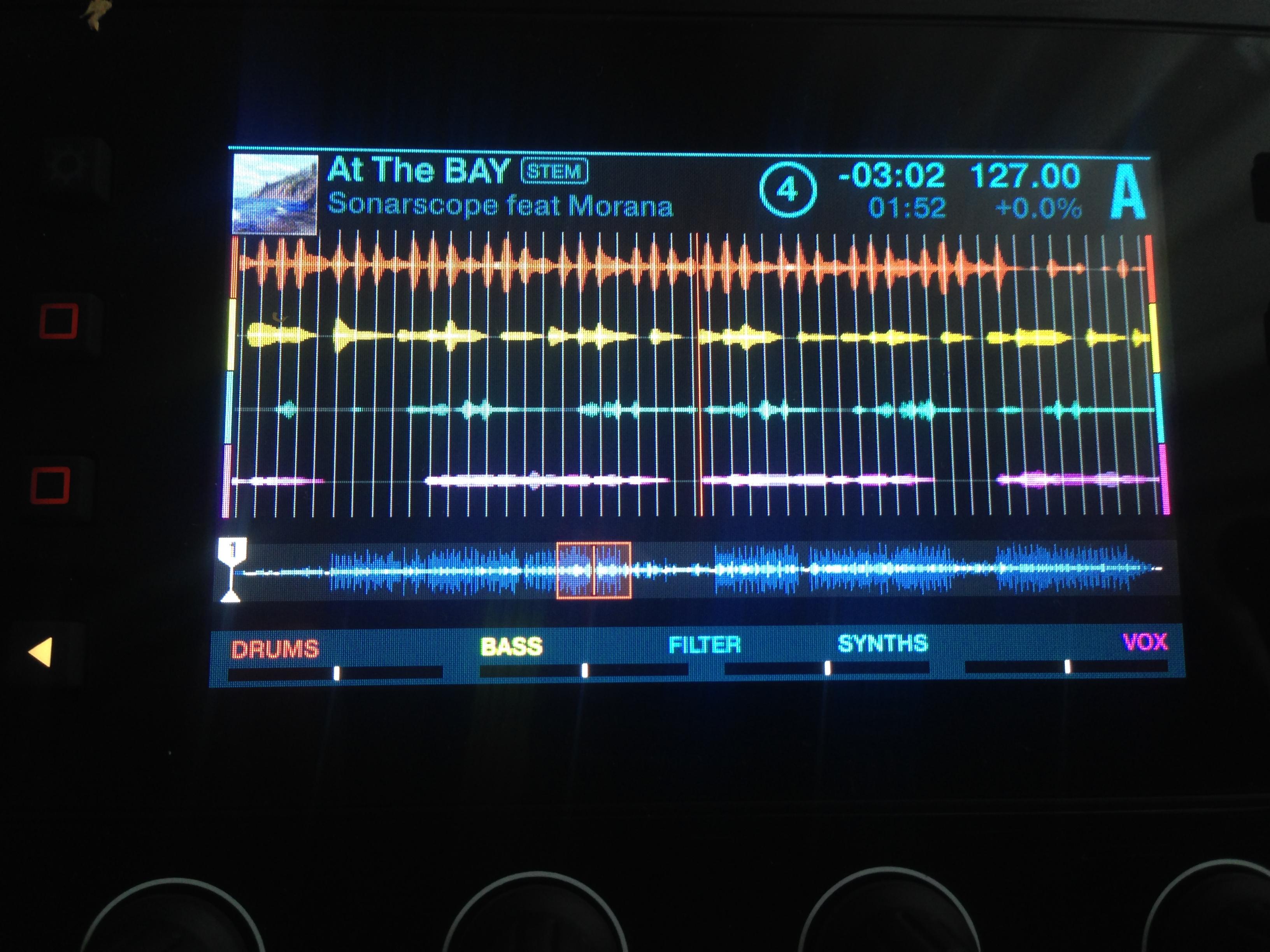 stems - SonarScope Pro Audio